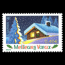 France 2002 - Merry Christmas Self-adhesive - Sc 2920 MNH