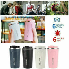 Vacuum Leakproof Insulated Coffee Cup Mug Travel Thermal Stainless Steel Flask