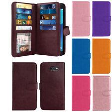 For Samsung Galaxy J7V J727/ J7 Sky Pro/ Perx Flip Wallet TPU Case Cover