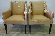 *PAIR*  Ed Wormley for Dunbar Mid Century Upholstered Armchairs
