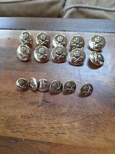 Raf brass buttons