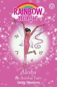 Rainbow Magic Story Book - Showtime Fairies: ALESHA THE ACROBAT FAIRY - NEW