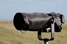 IMPERMEABILE NERO FOTOCAMERA, COVER Lente Per Canon ef300mm F2.8 è Mk 1 & II & Pouch