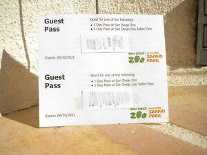 San Diego Zoo/Safari Park tickets