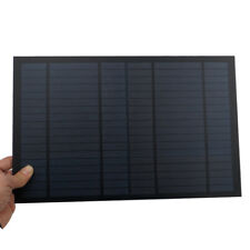 Solar Panel 18V 10W 0.55A Mini PET monocrystalline polycrystalline module cells