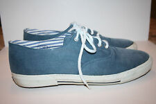 Men's Cole Haan Sporting Blue Denim Deck Shoes 10M Made in USA 05467