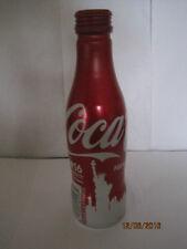 COKE-COLA ** NEW YORK**  ALUMINUM Bottle 8.5 oz ** 2016** EMPTY  WITH  CAP !!!.