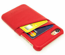 Synthetic Leather Card Pocket Fitted Cases for iPhone 5s