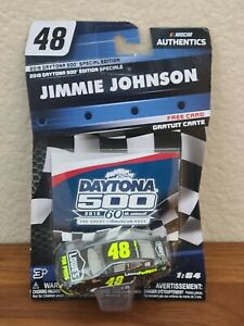 2018 Daytona 500 Wave Jimmie Johnson Lowes for Pros 1/64 NASCAR Authentics White
