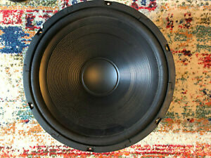 "Radio Shack Speaker 15"" Vintage 40-1035 Max 300 Watts 8 OHMS Tandy Music Sound"