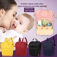 Mummy Mom Maternity Nappy Diaper Bag Large Capacity Baby Travel Backpack Handbag