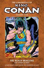 Chronicles of King Conan Vol 5: Black Dragons & Others Silvestri  & Kaluta TPB