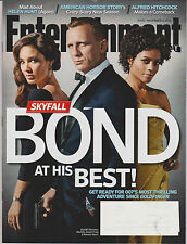 ENTERTAINMENT WEEKLY MAGAZINE November 2012 James Bond 007 SKYFALL DANIEL CRAIG