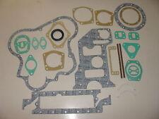"New Perkins A3.152 ""Massey Ferguson 35X / 35"" Bottom Gasket Set with seal(ROPE)"