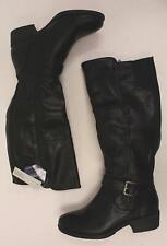 Croft & Barrow Women's Armor Knee-High Riding Boots MC7 Black 3306903 Size 6.5M
