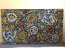 Johnny Warangkula Tjupurrula 1997 Painting From Papunya Tula