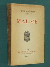Malice Pierre MAC ORLAN E.O. ex. n° 19 sur Hollande Van Gelder