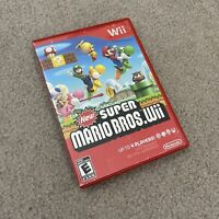 New Super Mario Bros. Wii Nintendo Wii Case and Disc No Manual Tested Working