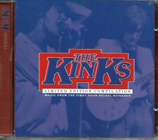THE KINKS LIMITED EDITION COMPILATION promo cd 1998