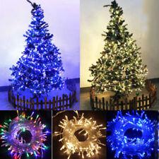 Christbaum Dekor LED Light Lichterkette Außen Innen Hochzeit Party Lights Gifts