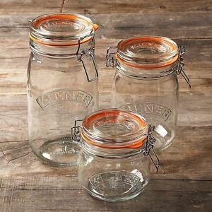 Original Round Kilner Jars