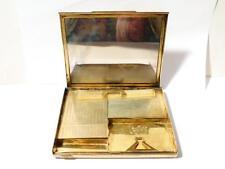Antique Italian Silver Minaudiere Necessaire Compact Case BOX 500g 12 x 15 x 2cm