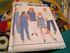 Maternity pattern-size 18,20,22,24-8999 Simplicity-jumpsuit,pull on pants ,top