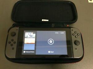 Nintendo Switch Gray Joy-Con, Video Gaming Bundle 2GB SD & CASE (PLEASE READ)