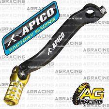 apico schwarz gelb gear pedal lever shifter für suzuki rmz 450 2012 motocross mx
