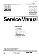 Service Manual-Anleitung für Philips N 4520