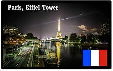 PARIS, EIFFEL TOWER, FRANCE - SOUVENIR NOVELTY FRIDGE MAGNET - BRAND NEW - GIFT