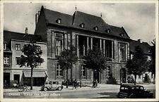 1938 Stempel Dessau Bahnhof AK Roßlau Haus Statthalters Geschäfte Oldtimer Auto