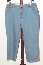 404dd090d67 Woman Within Plus 22W Straight Leg Denim Jeans 100% Cotton