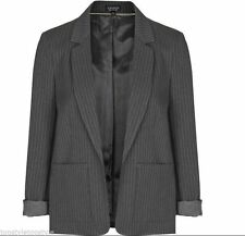 Topshop Hip Length Polyester None Coats & Jackets for Women