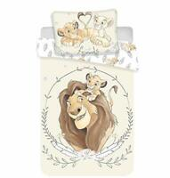 Disney The Lion King Simba and Mufasa Bedding Set 100 x 135 cm 100% Cotton