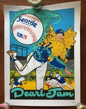 Pearl Jam Sold Out 2018 The Home Shows Seattle Poster, Ames Bros