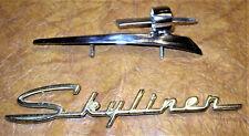 1959 59 Ford Skyliner Sunliner Galaxie 500 Fairlane Flying Elipse Hood Ornenment