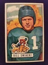 1951 Bowman # 132 Bill Swiacki