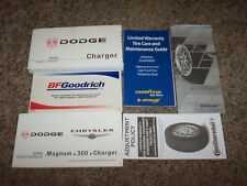 2008 Dodge Charger Owner Operator Manual SXT R/T SRT8 2.7L 3.5L 5.7L 6.1L V6 V8