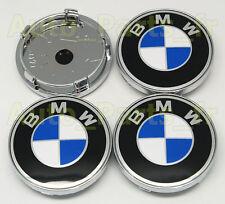4  Caches Jante moyeux - Centre de roue - Boulon - BMW - 60mm