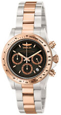 Invicta Men's Watch Speedway Chronograph Grey Dial Two Tone Bracelet 6932