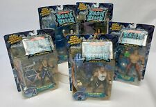 WCW Wrestling Bash At The Beach Action Figures- Entire Set Of Five - Rare ToyBiz
