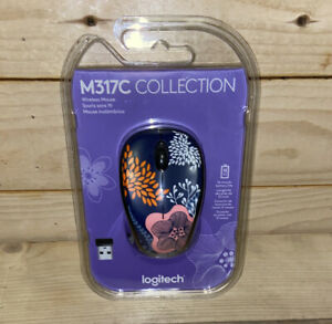 Logitech M317C Collection Forest FloralWireless Mouse