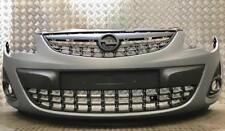 VAUXHALL CORSA D 2011-2014 FRONT BUMPER PRIMED WITH GRILLS