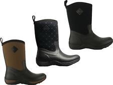 Muck Boots ARCTIC WEEKEND Ladies Rubber Wellington Boots Tan/Black