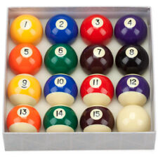 2-1/4 Inch Regulation Size Weight Art Number Style Billiard Table Pool Ball Set