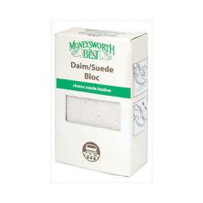 Moneysworth & Best Suede & Nubuck Cleaner Protector Dirt Remover Block Bloc M&B
