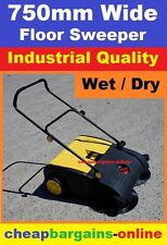 FLOOR SWEEPER 750mm INDUSTRIAL FACTORY SWEEPER WAREHOUSE CLEANER DUST COLLECTOR