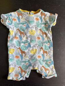 Baby Strampler Afrika Pusblu Gr.68, 4-6 Monate