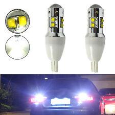 2x T15 T10 W5W CREE Car LED Hi-Power Backup Light 6000K 50W White Reverse Bulb